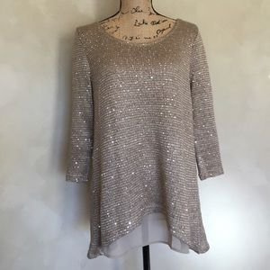 Simply Noelle sequin sweater